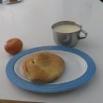 12 Das Frühstück, was fast immer gleich war