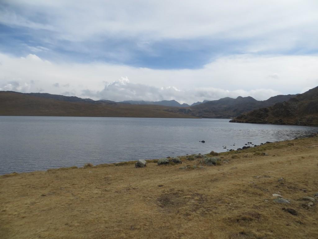28 Besuch der Lagune auf 4500m