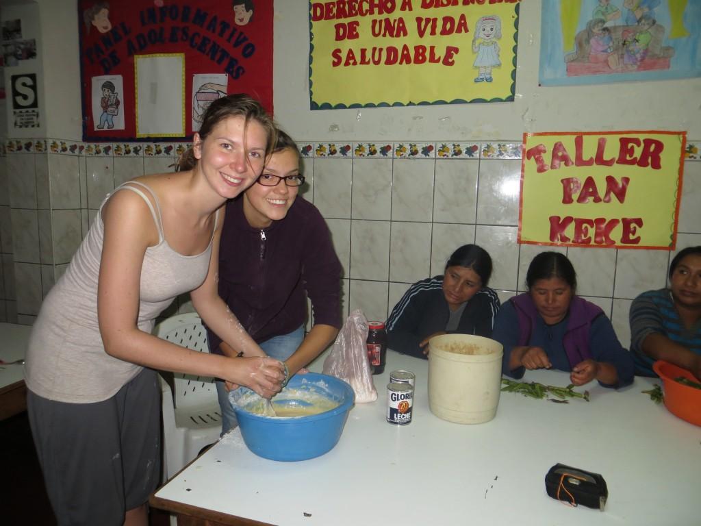 46 unsere Mitarbeiter wollten unbedingt lernen wie man Pfannkuchen macht