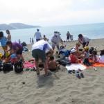 8 Erster Strandausflug - Strand Ancon